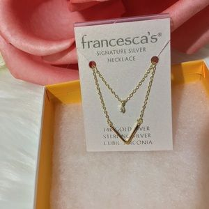Bundle of Jewelry Earrings Necklace NWT Francescas